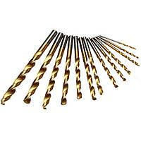 13 штук 1.5-6.5mm HSS титана сверла установить цилиндрическим хвостовиком спиральная дрель