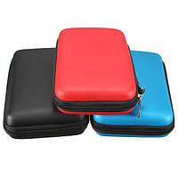 Полезно жесткий чехол крышка сумка сумка рукав кожа ева для Nintendo 3DS XL / LL