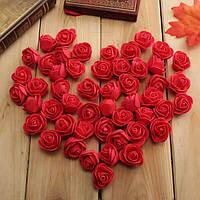 50шт 2.5 см искусственные розы pe пена роза цветок свадьбы партии украшение Валентина поддельные цветки