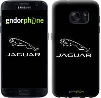 "Чехол на Samsung Galaxy S7 G930F Jaguar. Logo v2 ""3164c-106-7794"""
