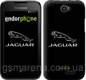 "Чехол на Lenovo A66 Jaguar. Logo v2 ""3164u-290-7794"""