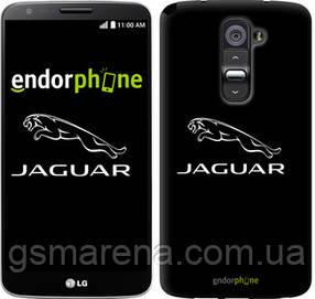 """Чехол на LG G2 Jaguar. Logo v2 """"3164u-37-7794"""""""