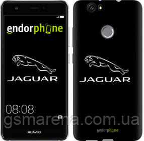 "Чехол на Huawei Nova Jaguar. Logo v2 ""3164c-439-7794"""