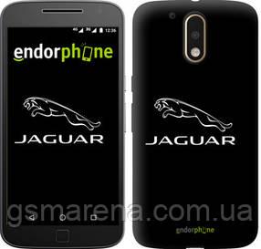 "Чехол на Motorola MOTO G4 Jaguar. Logo v2 ""3164c-511-7794"""