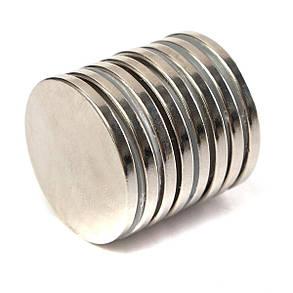 10шт N52 30ммx3мм крепкий круглый диск Магниты Редкоземельные неодимовые магниты-1TopShop, фото 2