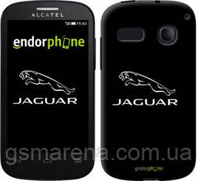 """Чехол на ALCATEL ONE TOUCH POP C3 4033D Jaguar. Logo v2 """"3164u-323-7794"""""""