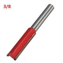 1/4 дюйма прямой хвостовик деревообрабатывающей ножа 1/2 флейта резьбы резцом фрезы, фото 3