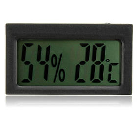 Авто цифровой ЖК-термометр гигрометр температуры и влажности 1TopShop