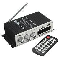 Lepai LP так-А7 USB мини-автомобиль усилитель мощности с USB памяти SD DVD-дисков CD МР3 FM радио пульт дистанционного управления