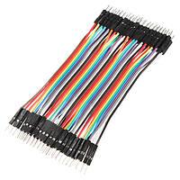 40шт 30см между мужчинами цвет макета кабель прыжка проволочной перемычкой