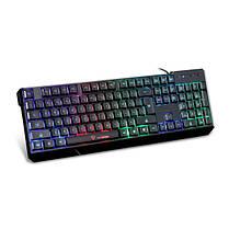 Motospeed k70 водонепроницаемый Красочные LED подсветкой клавиатура usb проводной игровой-1TopShop, фото 2