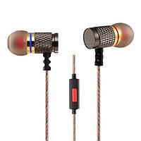 KZ EDR1 тяжелый бас -вкладыши наушников с микрофоном для мобильного телефона планшетных ПК