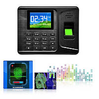 Realand а-е260 2.8 дюйма USB ЖК-биометрических отпечатков пальцев посещаемости машины