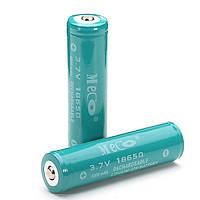 2шт Меко 3.7 4000mAh аккумуляторная защищены 18650 литий-ионный аккумулятор