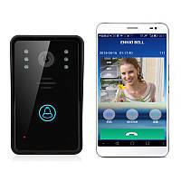 Беспроводной двери видео Ennio sywifi002 телефонная система внутренней связи IR ночного видения домой визуальной двери кольцо