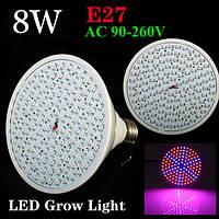 8w E27 роста сада завод LED лампы парниковых завод рассады свет