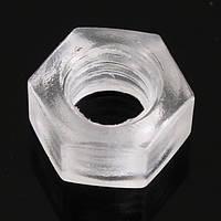 20шт м3 М6 шт прозрачные винты нейлоновые винты пластиковые винты гайки