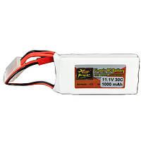 ZOP питания 7.4v 2200mAh 2S 35c Lipo батареи 3.5 мм Banana штепсель