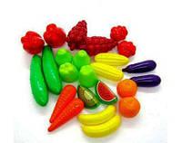 """Набор """"Фрукты-овощи"""" 24 предмета Орион 518"""