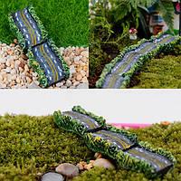 5шт DIY мини смолы шоссе тротуар комнатные растения microlandschaf орнамент