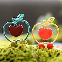 5шт яблоко поделки корзина мох ландшафтный дизайн декор горшечных растений микро-пейзаж