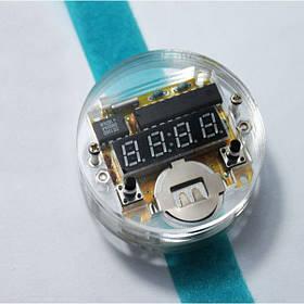 DIY светодиодные электронные часы электронные часы Комплект с прозрачной крышкой - 1TopShop