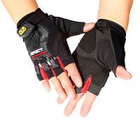 Тактические половина Finger перчатки Велоспорт открытый военный штурмовой варежки