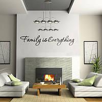 Сделай сам семья-это все домашний декор искусства съемный стикер стены винила Цитата