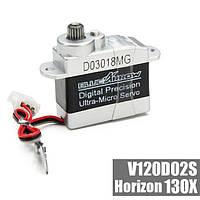 Ультра-микро металлические шестерни серво цифровой точностью для v120d02s 130 x