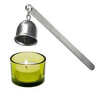 Нержавеющая сталь свечки понюшку огнемет инструмент серебро длинная ручка потушить пожар