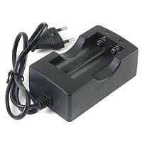 ЕС 100В-240В 2x18650 литий-ионный аккумулятор двойной зарядное устройство смарт
