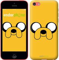 """Чехол на iPhone 5c Adventure Time. Jake """"1121c-23-8079"""""""