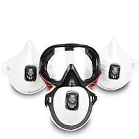 PM2.5 Анти Противотуманные и пылевые защитные маски и очки для JSP