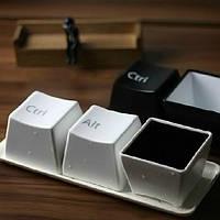3pcs творческие клавиатуре чай Кубок клавиатуры ctrl-дель-alt чашку кофе кружку