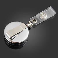 3.2 см полный металлический инструмент пояса деньги выдвижной брелок тянуть цепь клип