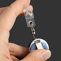 3.2 см полный металлический инструмент пояса деньги выдвижной брелок тянуть цепь клип, фото 2