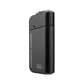 Travel Emergency AA Батарея Power Bank Внешняя резервная копия Батарея Зарядное устройство