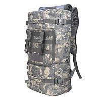 Открытый 45л треккинг кемпинг рюкзак рюкзак Camoflage туризм чемоданчик