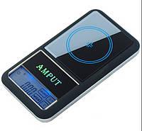 Amput 0.01gx 200г цифровые весы карманные
