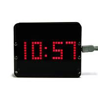 Комплект Geekcreit® DIY C51 DS3231 с датчиком силы тяжести светодиодный цифровые фантомные настольные часы
