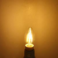 Е14 4вт чисто/теплый белый Эдисон накаливания LED пламя свечи лампы 220-240В