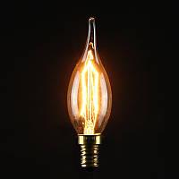 С35 40Вт Е14 античная Эдисон углерода filamnet прозрачное стекло лампы 220В