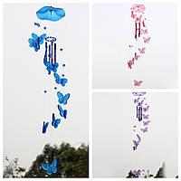 Бабочки акриловые ветер куранты колокольчик звук музыкальный инструмент