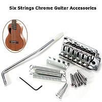 6 Strings Chrome Гитарный крестовый мост с гитарными аксессуарами