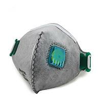 5 штук PM2.5 Анти Противотуманные и дымчатые Анти вируса активированный уголь Маска