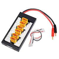 Amass V2 XT90 Plug Lipo Parallel Charger Board PL8 Батарейный кабель для зарядного устройства Imax B6