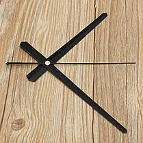 DIY Большая стена Часы Аксессуары Черный Белый, фото 3