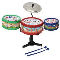 4шт мини детская ударная установка комплект музыкальных инструментов группы баса игрушки подарки