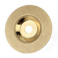 100 мм х 16 мм алмазные шлифовальные колеса диск твердого сплава Золотой полировки диска