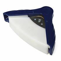 Р10 10мм угол круглее перфокарты фото фрезой синий, фото 2